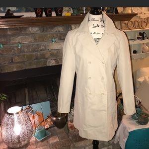GAP khaki Trench / Rain  Coat jacket size Small